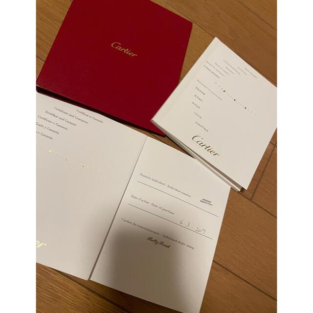 Cartier(カルティエ)の新品同様❣️正規カルティエW6920038 レディース 腕時計 レディースのファッション小物(腕時計)の商品写真