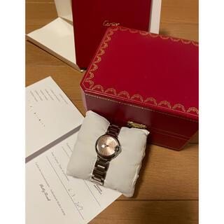 Cartier - 新品同様❣️正規カルティエW6920038 レディース 腕時計