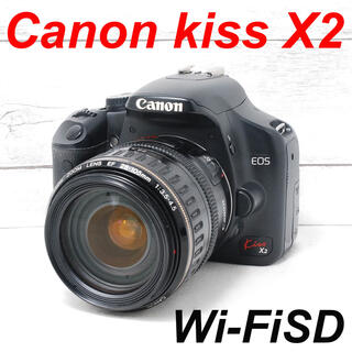 キヤノン(Canon)の❤️バッテリー2個付き❤️スマホ転送❤️Canon kiss X2(デジタル一眼)