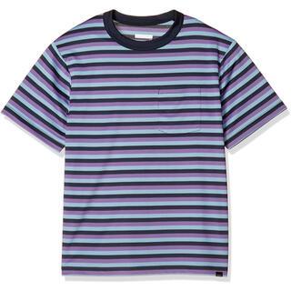 マーモット(MARMOT)のMarmot マーモット半袖Tシャツ ボーダーハーフスリーブクルー メンズM新品(Tシャツ/カットソー(半袖/袖なし))
