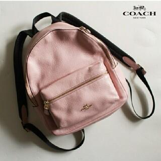COACH - コーチ COACH■リュック バッグ bag ピンク