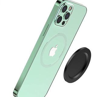 iPhone 12 MagSafe対応スマホリン アルミニウム磁気吸盤 スマホ