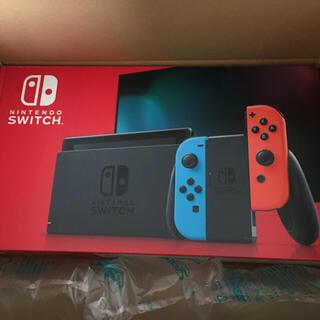 ニンテンドースイッチ(Nintendo Switch)の新品未使用 Nintendo Switch ネオン 本体1台(家庭用ゲーム機本体)