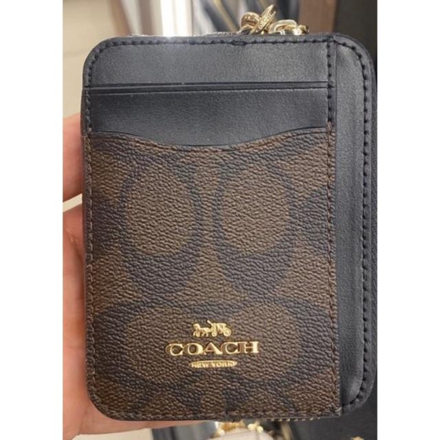 COACH(コーチ)のコーチ カードケース コインケース レディースのファッション小物(パスケース/IDカードホルダー)の商品写真