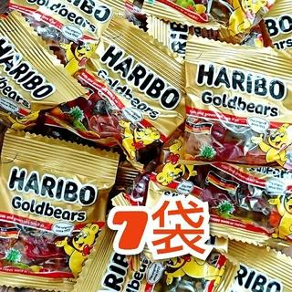 ゴールデンベア(Golden Bear)のハリボー HARIBO グミ 7袋(菓子/デザート)