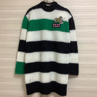 Drawer - 【 新品 】MIU MIU  ミュウミュウ ★ ビジュー装飾・セーター ★