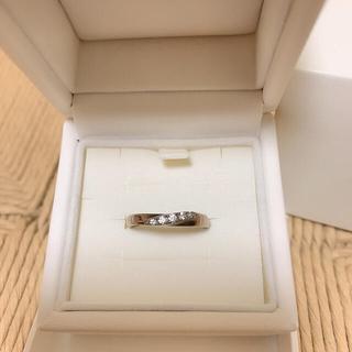 4℃ - 【箱付き】4℃ 指輪 リング PINK silver 9号