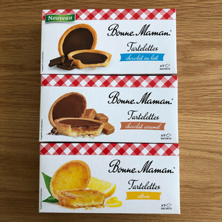 ボンヌママン タルトレット 3個セット(菓子/デザート)