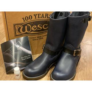 ウエスコ(Wesco)の最終値下げ【新品未使用】Wesco boss ウェスコ エンジニア 100周年(ブーツ)
