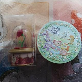 ダッフィー(ダッフィー)のスプリングインブルーム クッキーと美女と野獣 ローズティー(菓子/デザート)