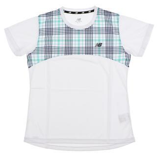 ニューバランス(New Balance)のnew balanceニューバランス ショートスリーブTシャツ レディースM新品(ウェア)