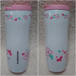 Starbucks Coffee - フラワー 花 春 ステンレスタンブラー ボトル 水筒 スタバ タイ バンコク