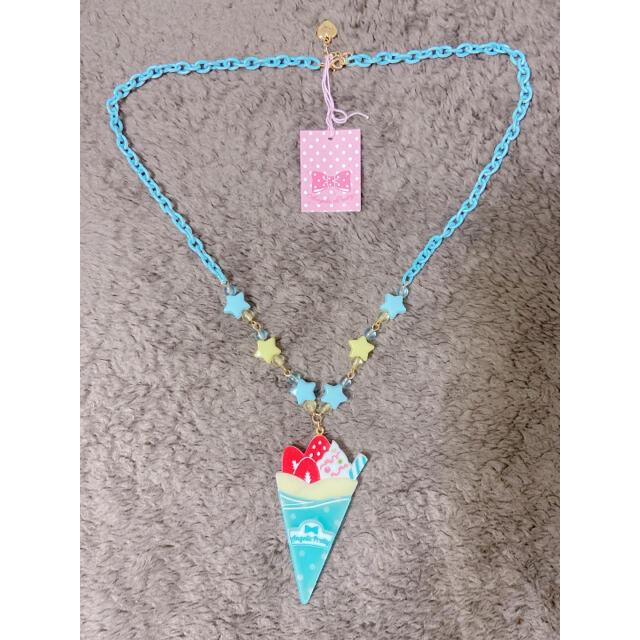 Angelic Pretty(アンジェリックプリティー)のFancyクレープネックレス レディースのアクセサリー(ネックレス)の商品写真