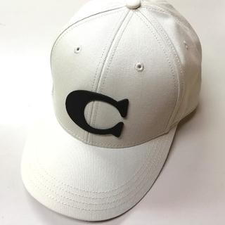 COACH - 【COACH★F75703】コーチ キャップ 帽子 チョーク 新品