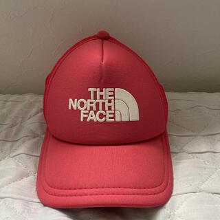 ザノースフェイス(THE NORTH FACE)のTHE NORTH FACE キャップ 定番ロゴ ビックロゴ ピンク(キャップ)