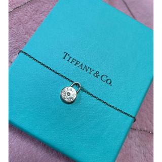Tiffany & Co. - お値下げ♡ティファニー ネックレス 希少 ラウンドロック 1837 ダイヤモンド
