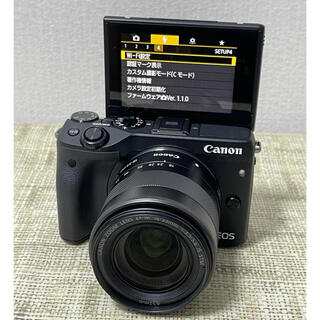 Canon EOS M3ズームレンズセットWi-Fi搭載