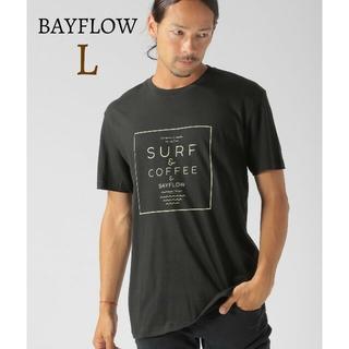 BAYFLOW - 新品 BAYFLOW アーバンアイランドソサエティ ロゴTシャツ トップス半袖