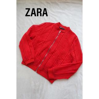 ザラ(ZARA)のZARA ストライプ シースルー ブルゾン(ブルゾン)