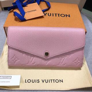 LOUIS VUITTON - 可愛いポルトフォイユサラルイヴィトン長財布正規品