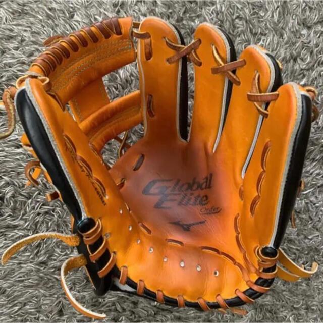 MIZUNO(ミズノ)のミズノ 軟式グラブ オーダー スポーツ/アウトドアの野球(グローブ)の商品写真
