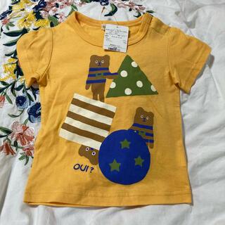 【新品未使用】HashHash Tシャツ 90