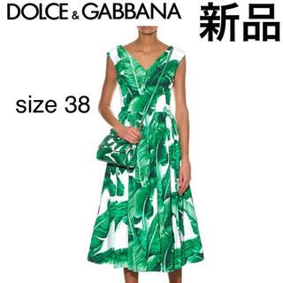 DOLCE&GABBANA - 【新品タグ付き】DOLCE&GABBANA BananaLeaf 七分丈 38