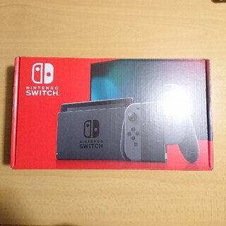 Nintendo Switch - ニンテンドースイッチ新品本体 グレー