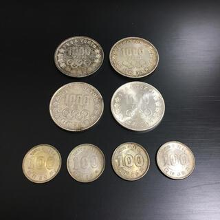 【期間限定】東京五輪(1964年)千円記念銀貨、百円銀貨セット(スポーツ)