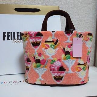 FEILER - 【新品】フェイラー ラブラリーアラモード 巾着付きトートバッグ