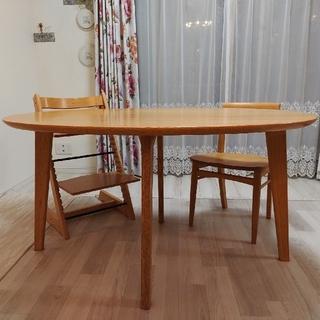 オオツカカグ(大塚家具)の【引取限定】国産ダイニングテーブル(ダイニングテーブル)