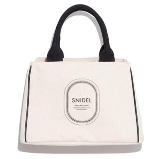 snidel - スナイデル ロゴトートバッグ