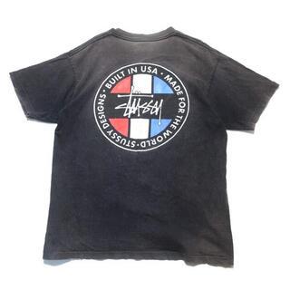 STUSSY - 【80s】USA製 Old Stussy ストックロゴ Tシャツ グレー M