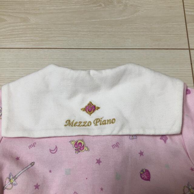 mezzo piano(メゾピアノ)のセーラームーンコラボワンピ キッズ/ベビー/マタニティのキッズ服女の子用(90cm~)(ワンピース)の商品写真