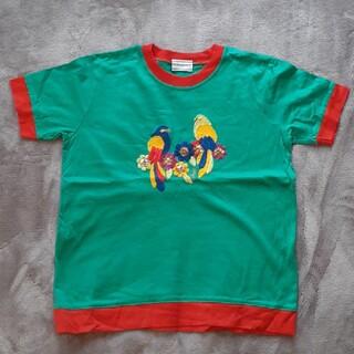 Yves Saint Laurent Beaute - イヴ・サンローラン 鳥刺繍Tシャツ 120 インコ イヴサンローラン
