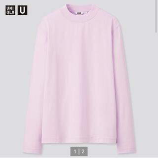 ユニクロ(UNIQLO)の新品 ユニクロ U クルーネックTシャツ(Tシャツ/カットソー(七分/長袖))