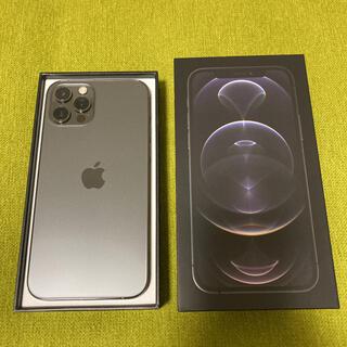 iPhone - iPhone 12 pro グラファイト 128 GB SIMフリー
