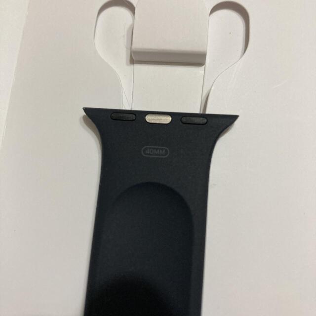 Apple Watch(アップルウォッチ)のapple watch ソロループ 40mm ブラック メンズの時計(ラバーベルト)の商品写真