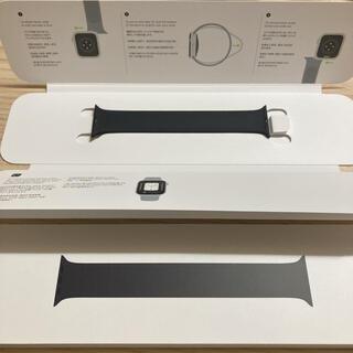 Apple Watch - apple watch ソロループ 40mm ブラック