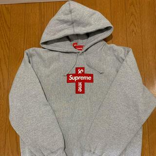 シュプリーム(Supreme)のsupreme box logo hooded north face キムタク(パーカー)
