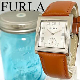Furla - 125 FURLA フルラ時計 レディース腕時計 スクエア キャメル 人気