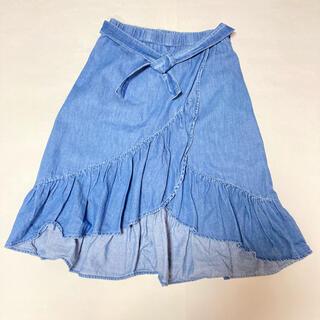 ザラ(ZARA)のZara ザラ ラップ デニムスカート 150(スカート)