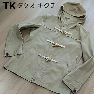 タケオキクチ(TAKEO KIKUCHI)の《春物》TK タケオキクチ スプリング ブルゾン フード オフホワイト(ブルゾン)