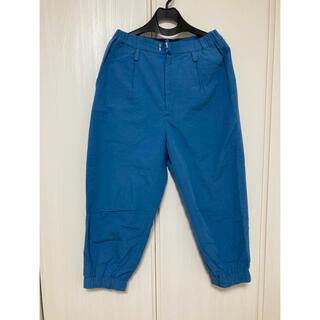 ミナペルホネン(mina perhonen)のミナペルホネン*skyshadow パンツ 36 ブルー(カジュアルパンツ)