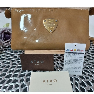 ATAO - ATAO  アタオお財布ポシェットブーブードルチェ ゴールド