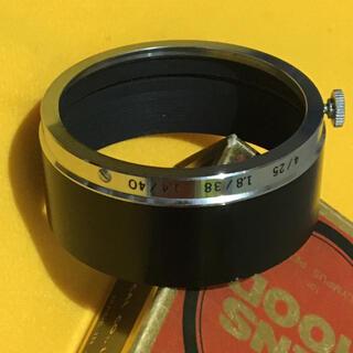 OLYMPUS - OLYMPUS PEN F ビンテージ ペンF 純正レンズフード 箱付