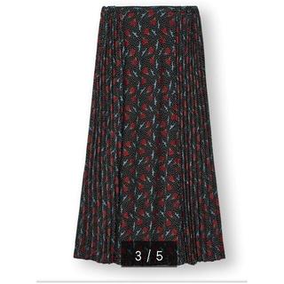 アンダーカバー(UNDERCOVER)のジーユー×アンダーカバーコラボコンビネーションスカートXL新品未使用黒(ロングスカート)