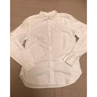 シマムラ(しまむら)のしまむらクロッシー オックスシャツ ホワイト m(シャツ/ブラウス(長袖/七分))