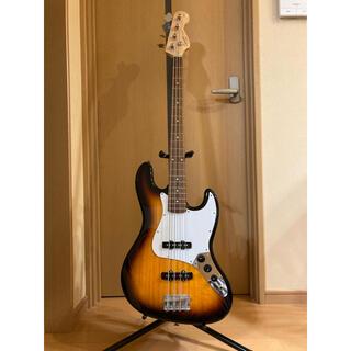 フェンダー(Fender)のFender® Jazz Bass® Squire フェンダー ジャズベース美品(エレキベース)