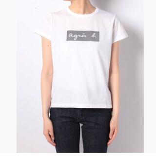 agnes b. - 新品未使用 アニエスベー ボックスロゴTシャツ 白